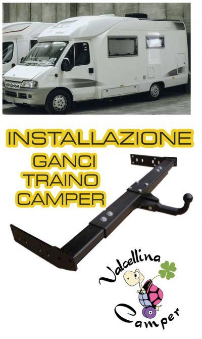 offerta installazione ganci traino camper occasione ganci traino camper accessori camper