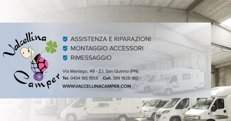Offerta Servizio di Rimessaggio Camper Pordenone - Occasione Specialisti interventi su Camper