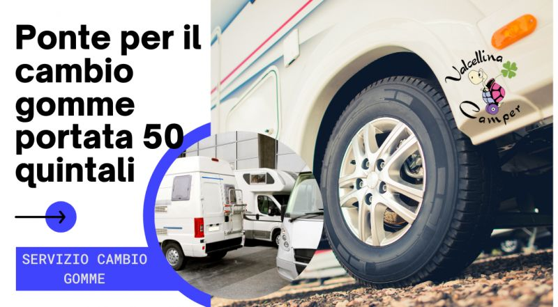 Offerta servizio cambio gomme per camper a Pordenone – occasione cambio gomme camper 50 quintali a Pordenone