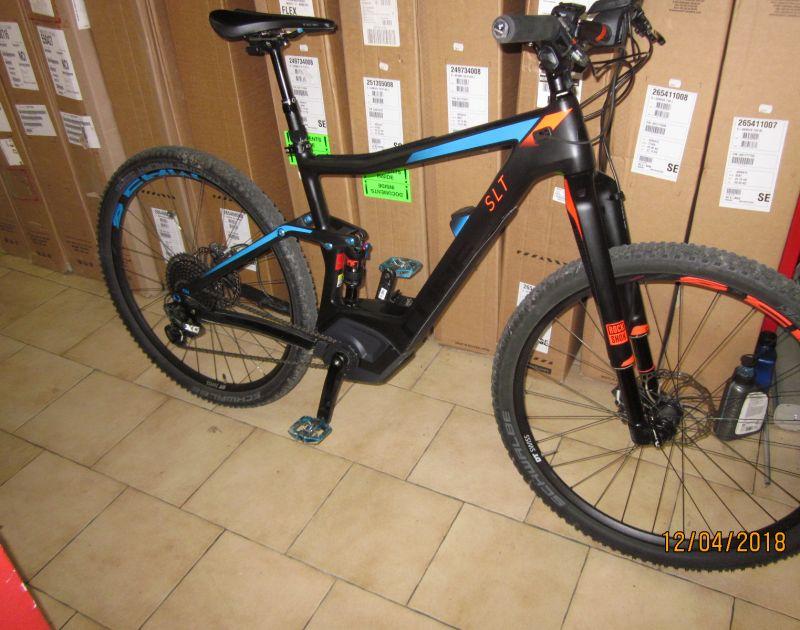 offerta cube e bike usata-promozione cube ybrid stereo 29 carbonio