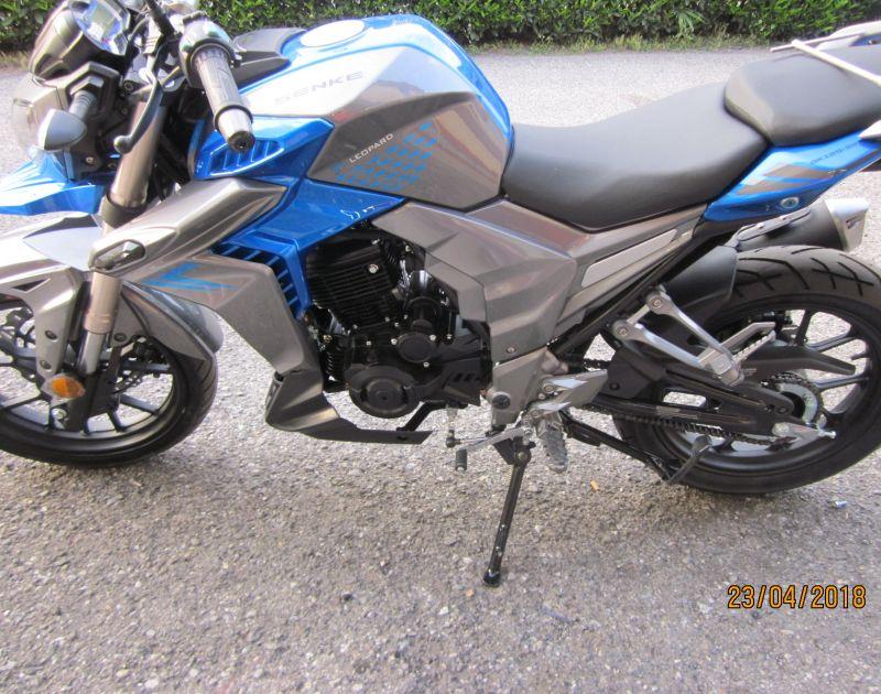 offerta senke 125 super sport-promozione moto da strada pronta consegna