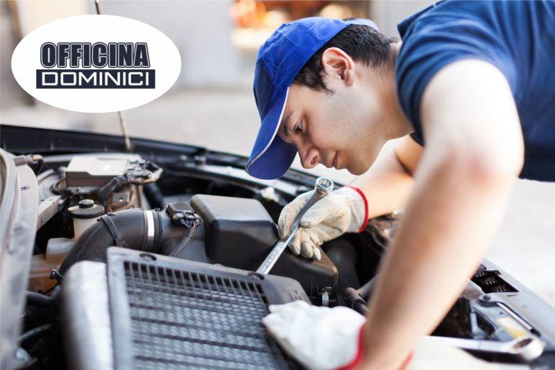 Officina Dominici - Offerta riparazione auto - Promozione riparazione furgoni