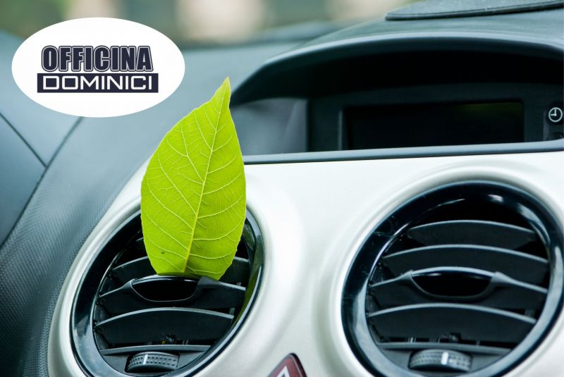 Officina Dominici - Offerta Ricarica aria condizionata auto - Occasione ricarica aria veicoli