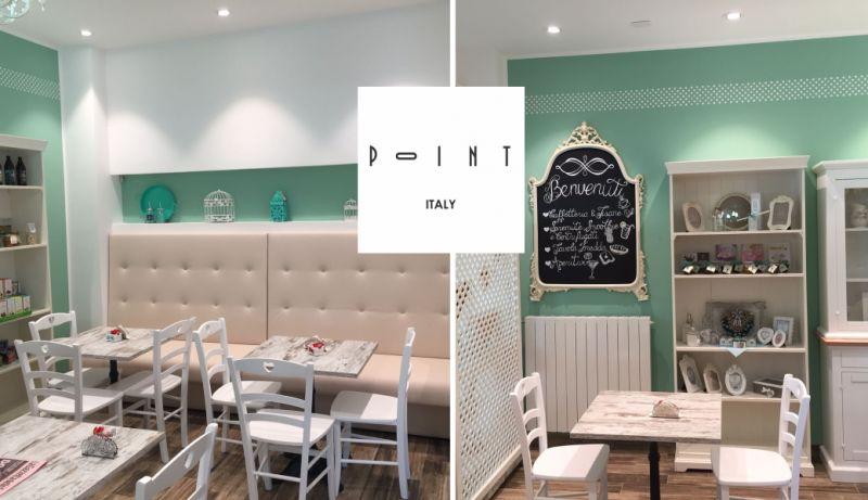 POINT ITALY offerta arredo negozio personalizzato - promozione arredamento per locali pubblici