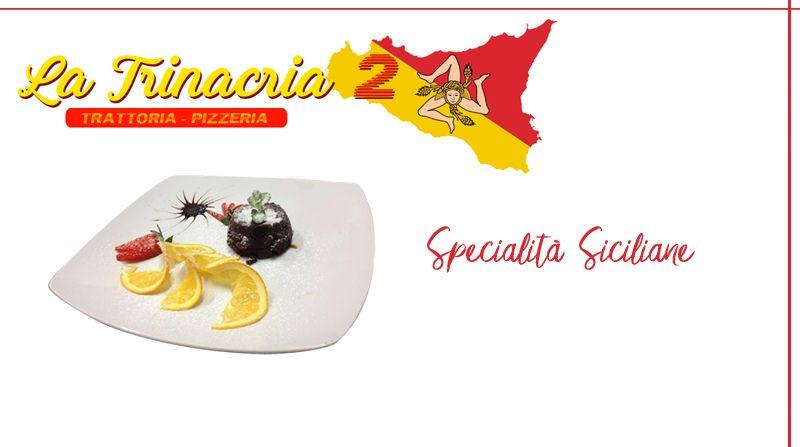 Offerta Ristorante trattoria Siciliana - Promozione pietanze tipiche siciliane La Trinacria 2
