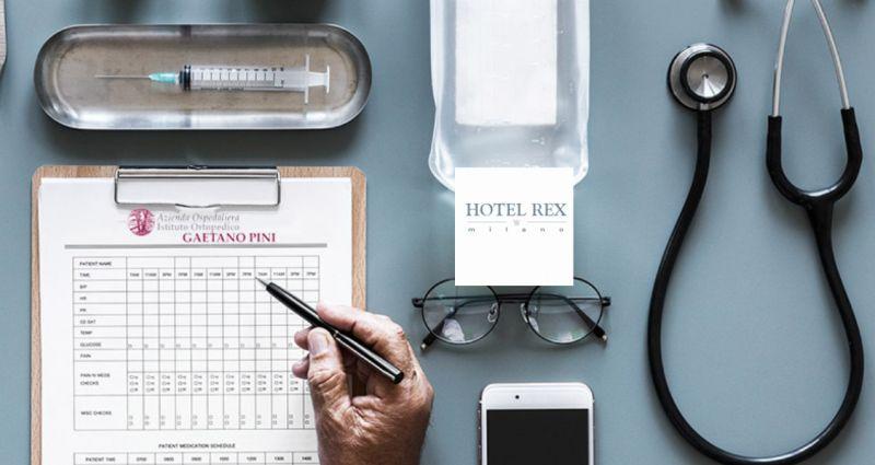 HOTEL REX camere vicino istituto ortopedico gaetano pini – promozione agevolate dormire ortopedia