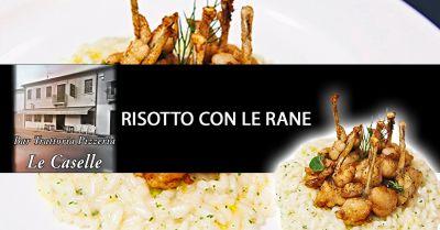 offerta specialita risotto con le rane vicenza occasione piatto tipico risotto di rane vicenza