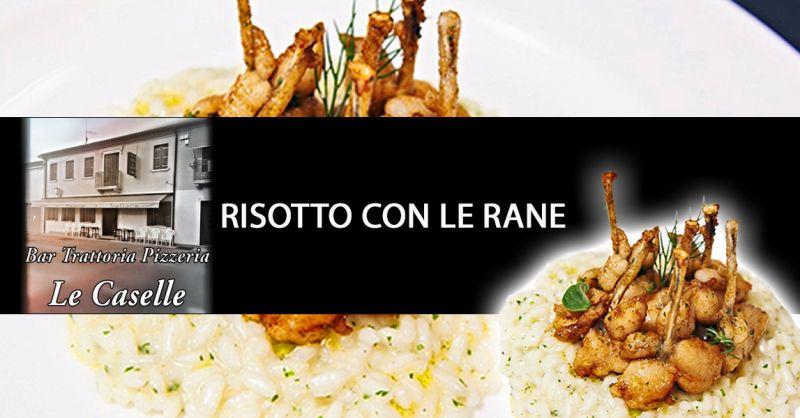 Offerta Specialità Risotto Con le Rane Vicenza - Occasione Piatto Tipico Risotto di Rane Vicenza