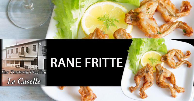 Offerta specialità rane fritte Vicenza - Occasione dove mangiare le rane fritte Vicenza