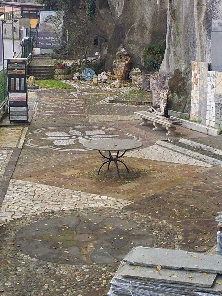 Offerta pavimenti in pietra Roma -  Occasione rivestimenti in pietra zona Castelli Romani