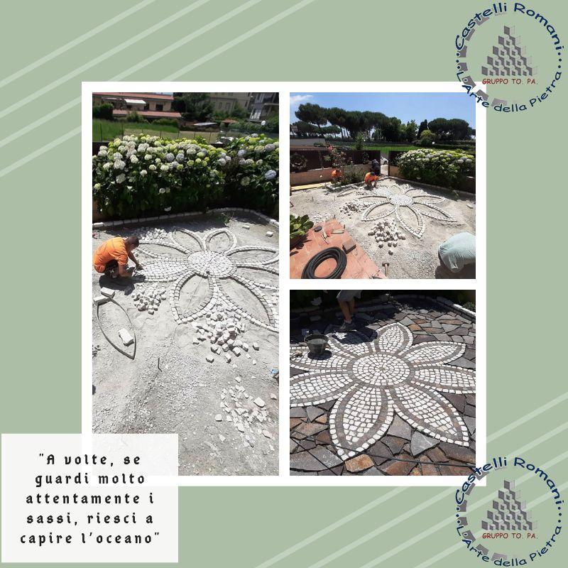 Occasione realizzazione decori in pietra zona Castelli Romani - Offerta pietre naturali Roma