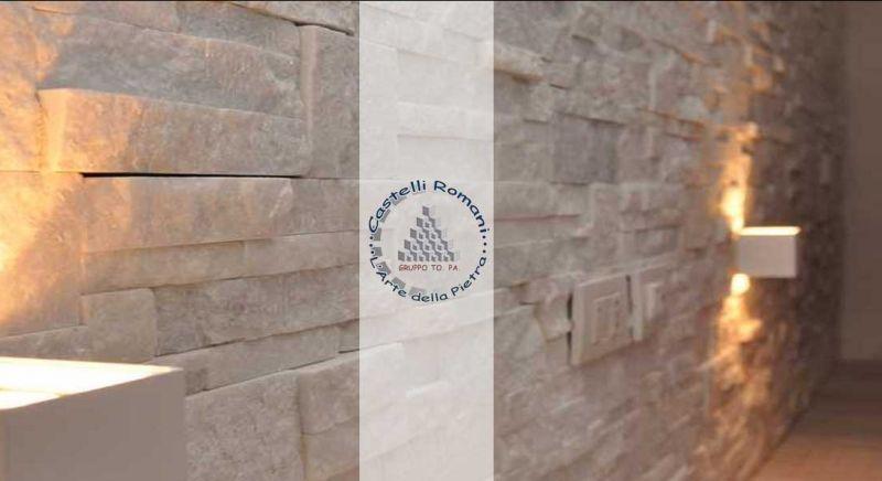 Occasione rivestimenti esterni in pietra Roma - Offerta pietra assemblata zona Castel Gandolfo