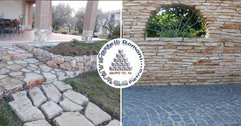 Occasione rivestimenti muri esterni in pietra di trani Roma
