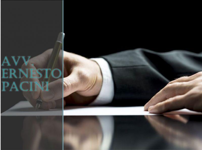 AVVOCATO ERNESTO PACINI - OFFERTA CONSULENZA LEGALE IN ANATOCISMO BANCARIO E USURA BANCARIA