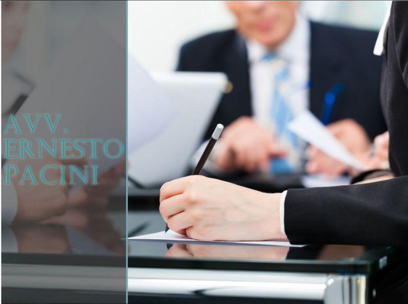 AVVOCATO ERNESTO PACINI - OFFERTA CONSULENZA - REDAZIONE - STIPULA CONTRATTI D'IMPRESA
