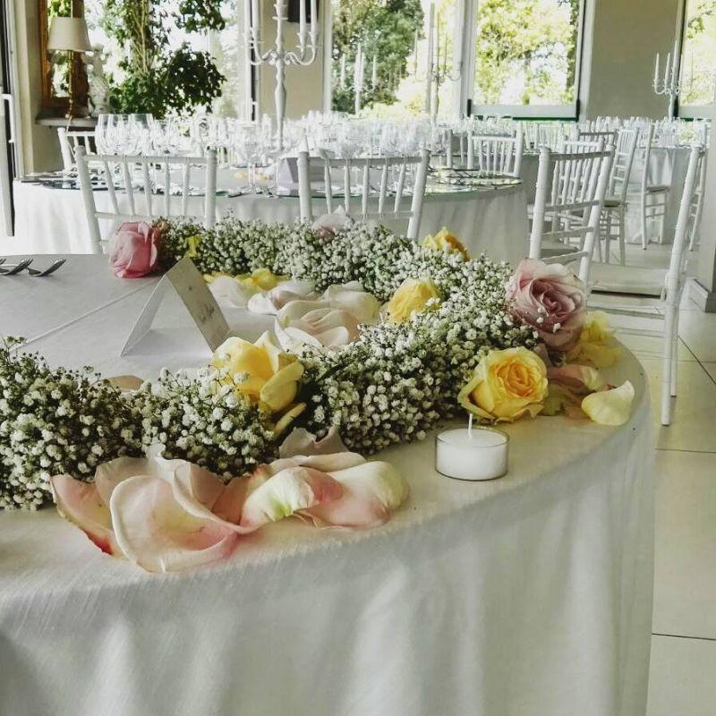 Offerta addobbi floreali per matrimoni - addobbi floreali per cerimonie - Puzzle Wedding