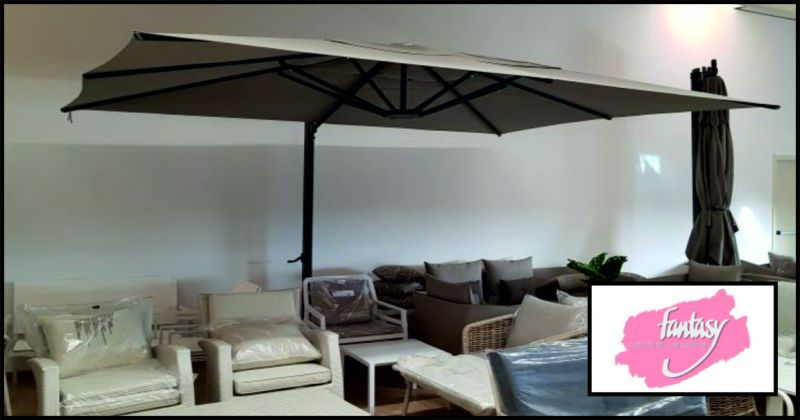 fantasy forniture alberghiere offerta ombrelloni da giardino - occasione arredamento esterno