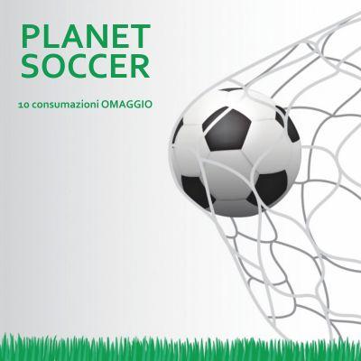 offerta prenotazione campo di calcio consumazioni omaggio promozione noleggio campo da calcio