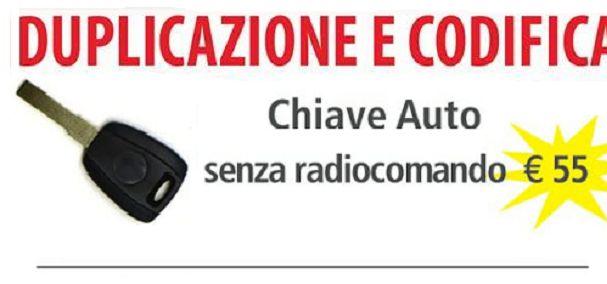 Offerta duplicazioni chiavi auto Roma