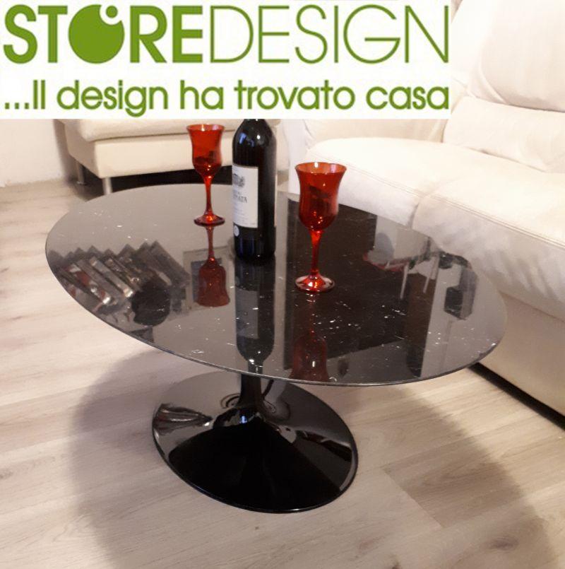 Promozione Tavolino salotto Tulip in Marmo - Tulip in marmo Made in Italy