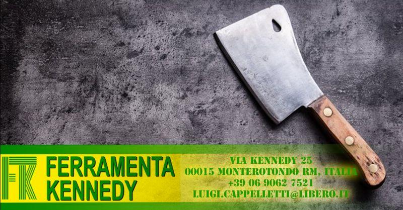 Offerta affilatura coltelli da cuoco Roma - Occasione affilatura coltelli da Macelleria Roma