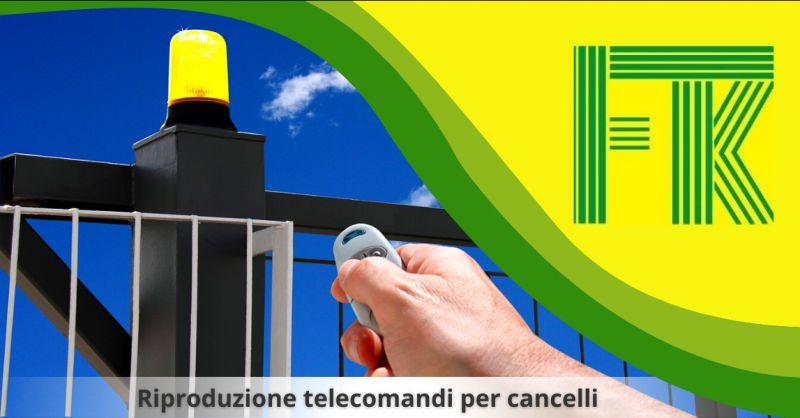 Offerta riproduzione telecomandi cancelli monterotondo - occasione telecomandi cancelli roma