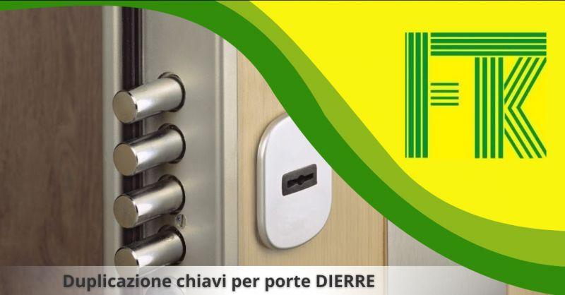 Offerta duplicazione chiavi porte dierre monterotondo - duplicazione chiavi dierre roma
