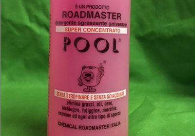 pool e un detergente universale ideato e realizzato in italia da chemical roadmaster