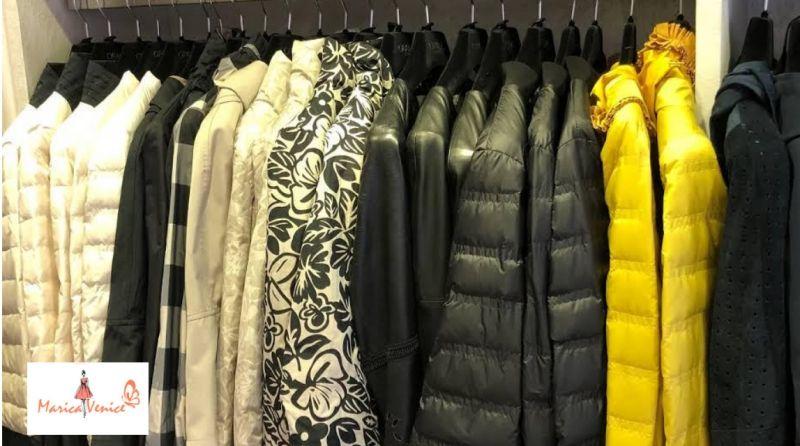 Marcia Venice offerta abbigliamento da donna - occasione giubbotti invernali  Calle Vallaresso