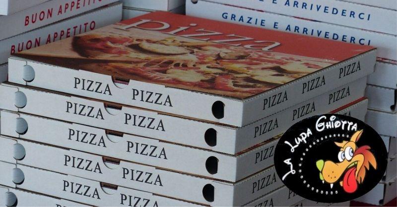 offerta pizza da asporto e a domicilio - LA LUPA GHIOTA