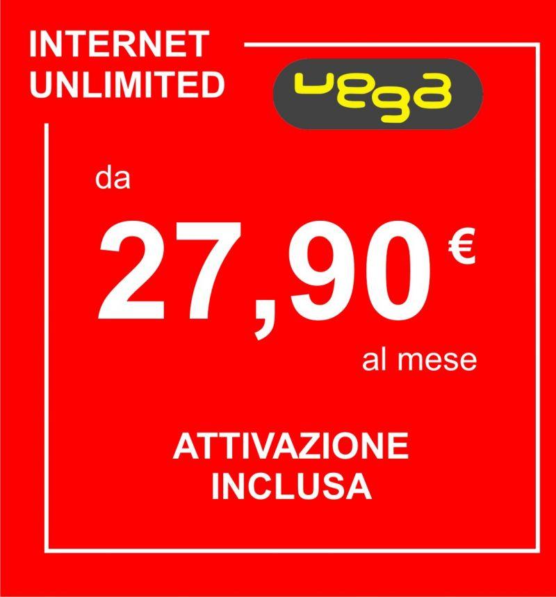 VEGA promozione Vodafone mensile internet - offerta limitata fibra vodafone
