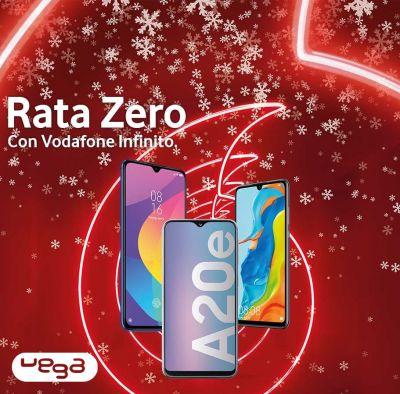 vega store offerta vodafone natale cellulare rata zero promozione smartphone canone 0
