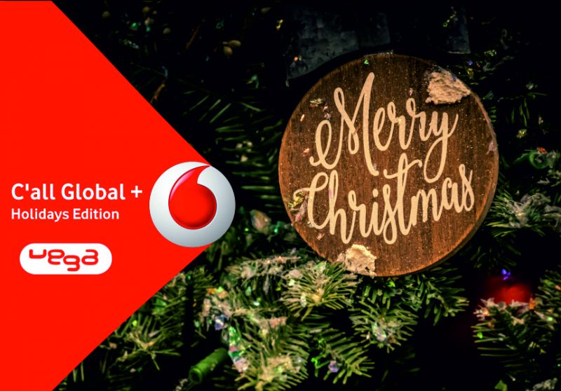 VEGA STORE offerta c all global + holidays edition vodafone – promo unlimited giga for calls
