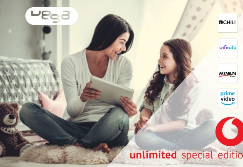 VEGA STORE offerta vodafone tv unlimited fibra special edition – promozione internet casa