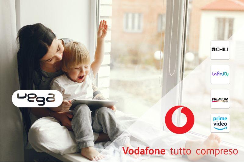 VEGA STORE offerta vodafone casa internet illimitato – promozione vodafone tv