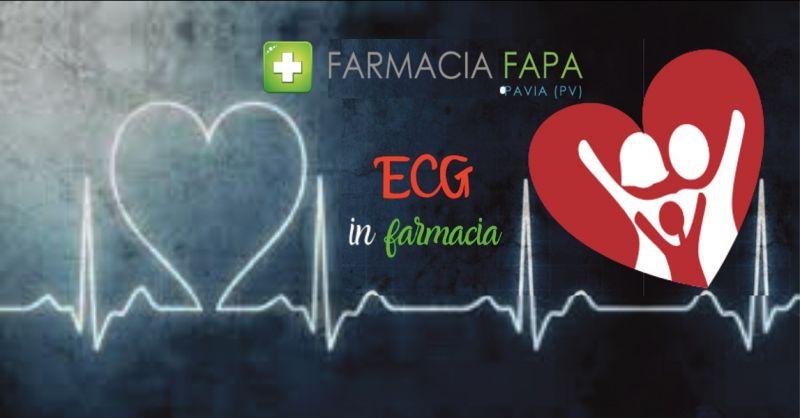 offerta esame ecg holter pressorio e holter cardiaco Pavia - FARMACIA FAPA