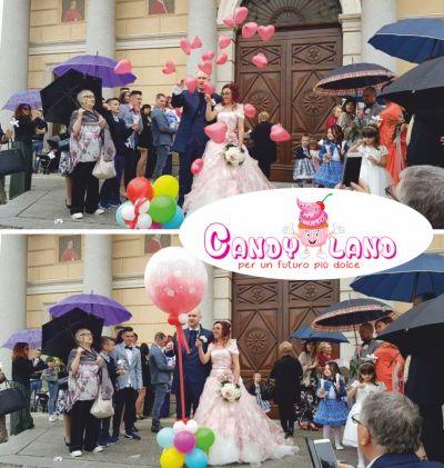 offerta palloni per i matrimonio promozione palloni a scoppio per matrimonio