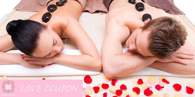 Offerta spa san valentino massaggio relax coppia lecce - coupon cena romantica porto cesareo
