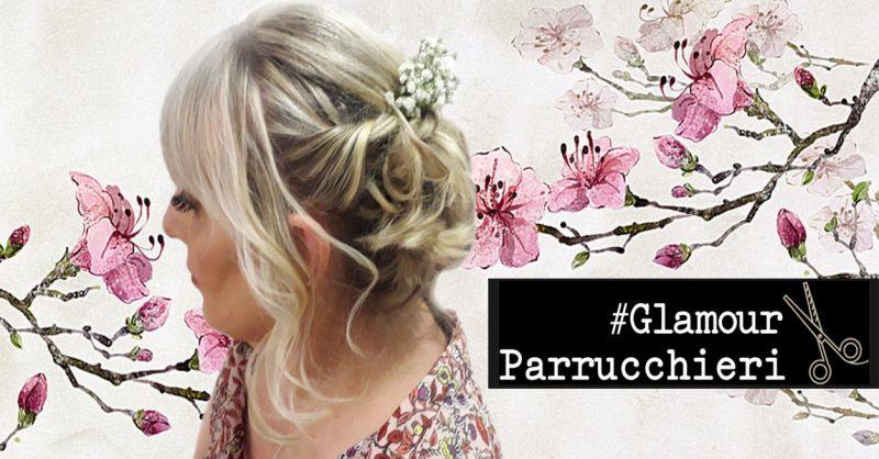 offerta acconciatura da sposa Glamour Parrucchieri Roma - occasione pettinature da sposa Roma