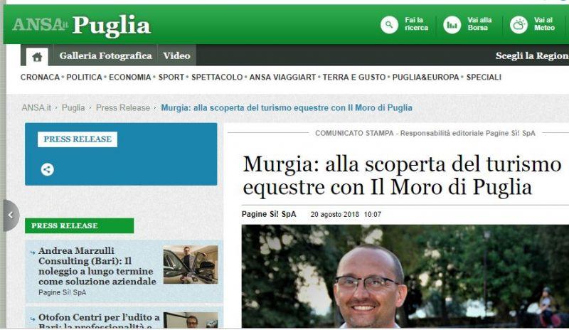 Scuola di Equitazione Moro di Puglia Taranto Murgia - maneggio taranto - equitazione taranto