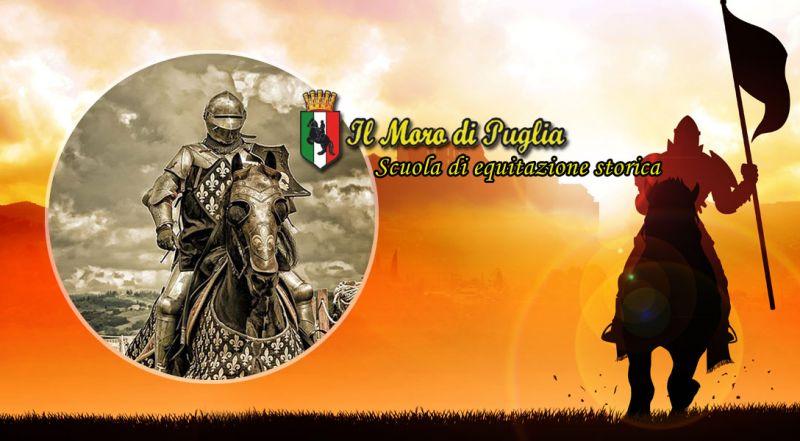 Il Moro di Puglia - occasione scuola di equitazione storica taranto