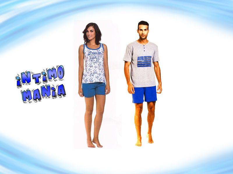 Offerta vendita pigiami uomo donna - Promozione distribuzione pigiami alla moda