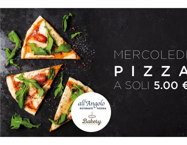 ALL ANGOLO BAKERY offerta mercoledi pizza asporto - promozione pizze grassobbio