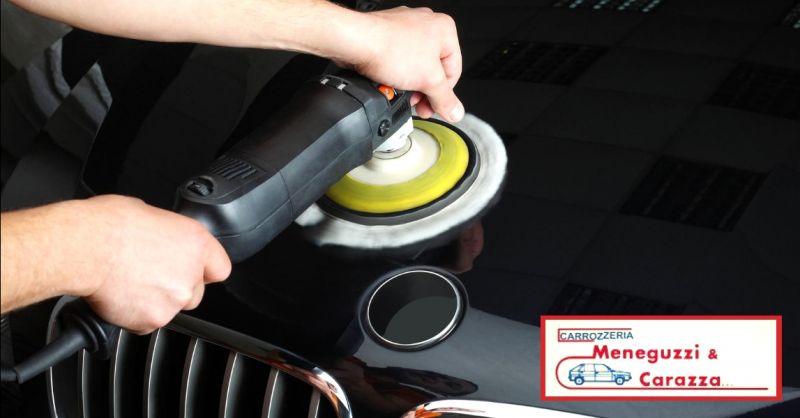 offerta servizio riparazione carrozzeria Verona - occasione lucidatura auto professionale