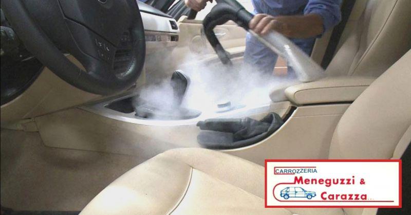 offerta lavaggio interni auto Verona - occasione pulizia interni auto professionale Verona