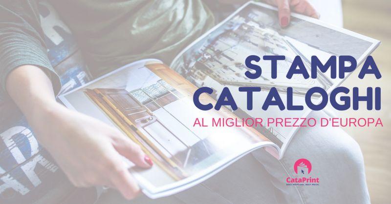 CataPrint - promozione servizio online realizzazione riviste - Offerta realizzazione cataloghi