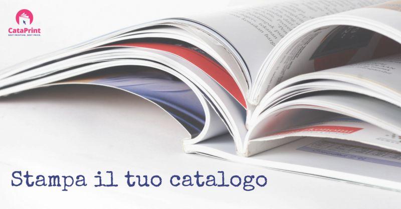CataPrint offerta stampa cataloghi low cost - Promozione stampa online cataloghi economici