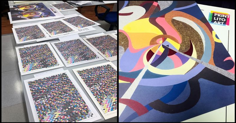 PrintLitoArt Occasione stampa opere litografiche giclee - Offerta stampa litografica offset