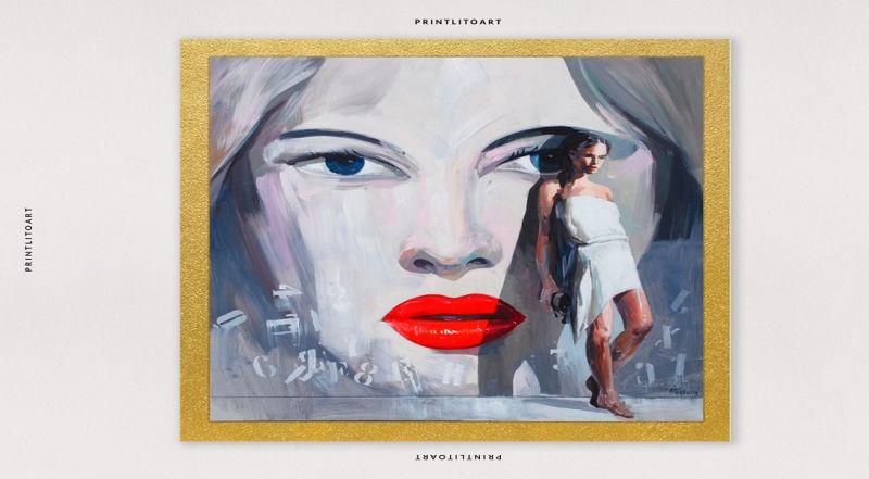 PrintLitoArt offerta servizio online stampa opere d'arte - Promozione piattaforma online stampe