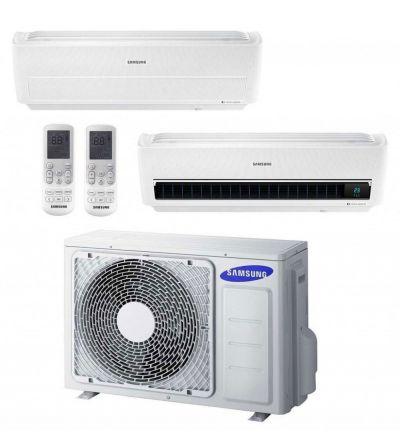 climatizzatore condizionatore windfree samsung 9 9 inverter wi fi dual split 21000 microfori
